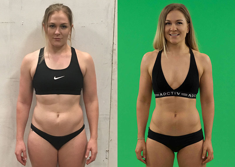 """It was so easy to stay motivated during RAW as I saw new results every week!  Within the first two weeks my entire body shape transformed and just  continued ..."